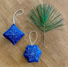 sashiko ornament